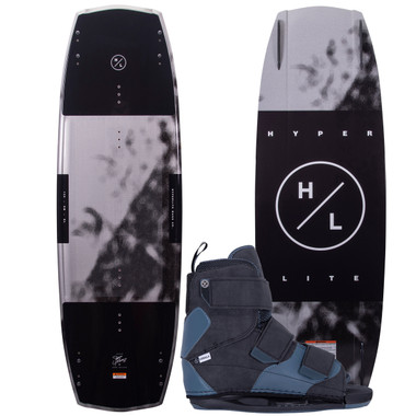 Hyperlite Baseline 141 cm Wakeboard Package with Formula Boots