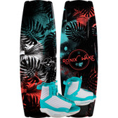 Ronix Krush 128 cm Wakeboard Package with Luxe Bindings