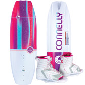 Connelly Lotus 134 cm Women's Wakeboard Package with Optima Boots