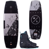 Hyperlite Baseline 136 cm Wakeboard Package with Session Boots