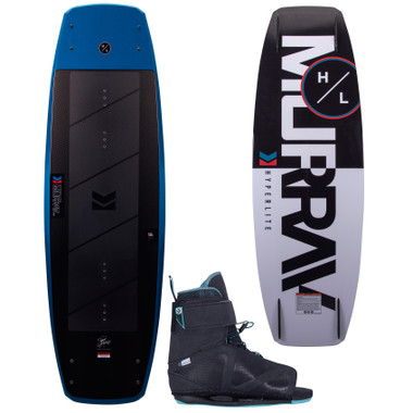 Hyperlite Murray Pro 139 cm Wakeboard Package with Session Boots