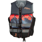O'Brien Ladies Flex V-Back Neo Vest - Coral