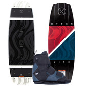 Hyperlite Franchise 142 cm Wakeboard Package with Formula Boots