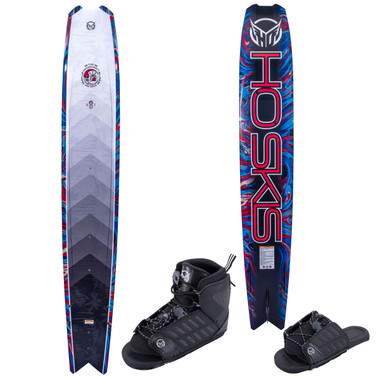 """HO Sports Hovercraft 69"""" Slalom Ski with FreeMax Front Boot & Adj Rear Toe"""