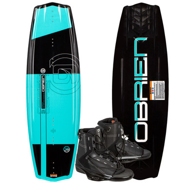 O'Brien Valhalla 143 cm Wakeboard Package with Access Boots