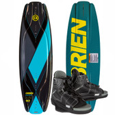 O'Brien Clutch 138cm Wakeboard Package with Clutch Bindings