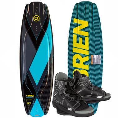 O'Brien Clutch 138cm Wakeboard Package with Clutch Bindings