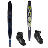 "HO Sports Carbon Omni 67"" Slalom Ski with Double Stance 130 Boots"