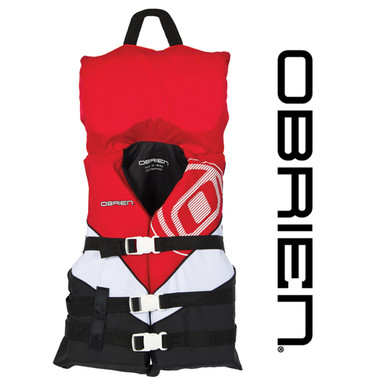 O'Brien Youth Nylon Vest with Collar for the Lowest Price at RIDE THE WAVE