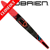 "O'Brien World Team 68"" Slalom with X-9 Adj Binding & Rear Toe Plate 2019 ON SALE!"