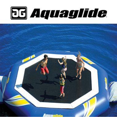 Aquaglide Supertramp 23' Water Trampoline with Swimstep