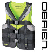O'Brien Teen Nylon Life Jacket - Lime