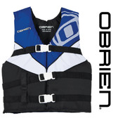 O'Brien Youth Nylon Vest Blue