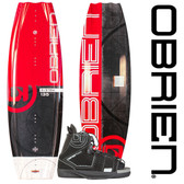 O'Brien System 135cm Wakeboard Package With Clutch Bindings