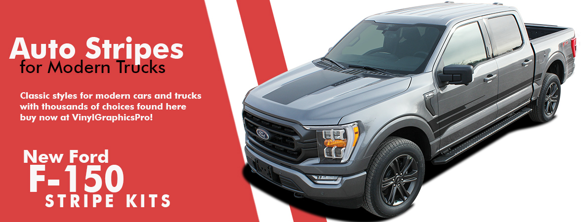 Ford F150 Graphics | F150 Decals | F150 Stripes 2021 2022