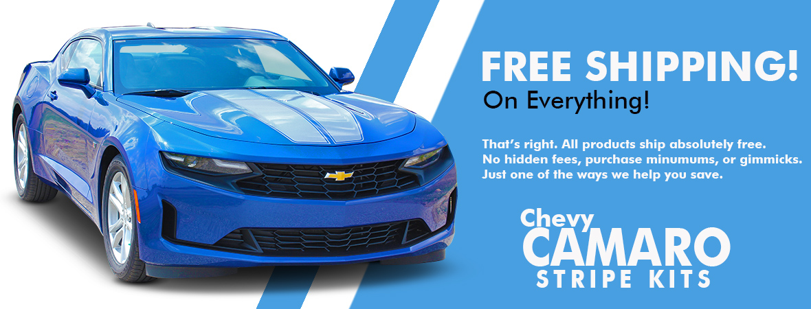 Chevy Camaro Stripes | Camaro Graphics | Camaro Decals Kits 2010-2020