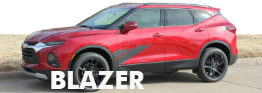 2019 2020 2021 Chevy Blazer Stripes Decals Vinyl Graphics