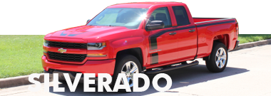 Chevy Silverado Stripes Decals Vinyl Graphics