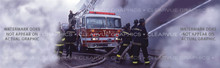FFS-004 Fifth Alarm - Rear Window Graphic for Trucks and SUV's (FFS-004)
