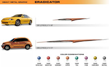 ERADICATOR Universal Vinyl Graphics Decorative Striping and 3D Decal Kits by Sign Tech Media, Inc. (STM-ER)
