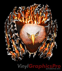 EAGLE TEAR : Premium Ultra High Resolution Vinyl Graphics by Speed Graphics, Inc (SPEED-EGT-90-PR)