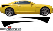 2010-2013 Chevy Camaro : Quarter Panel Shark Tooth Graphics (VG-SVS313C)