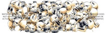 CAR-007 44 Skulls - Rear Window Graphic for Trucks and SUV's (CAR-007)