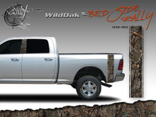 Wild Oak Wild Wood Camouflage : Bed Side Rally with Logo 12 inches x 42 inches (ILL-1402.050)