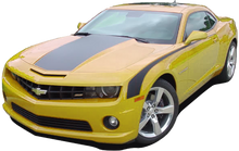 2010-2013 Chevy Camaro Solid Hood and Decklid Trunk Decal Stripes Vinyl Graphics Kit (GRC26)