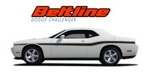 BELTLINE : 2008 2009 2010 2011 2012 2013 2014 2015 2016 2017 2018 2019 2020 2021 Dodge Challenger Mid-Body Line Accent Stripe Vinyl Graphics Decals Stripe Kits and Packages (VGP-1432)