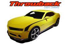 THROWBACK : 2010 2011 2012 2013 2014 2015 Chevy Camaro Original Hockey Stick OEM Style Vinyl Graphics Side Door Stripe Decal Kit (VGP-1479.2432)