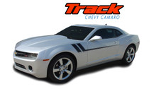 TRACK : 2010 2011 2012 2013 2014 2015 Chevy Camaro Side Door Hockey Striping Vinyl Graphics Decal Kit (VGP-1502)