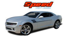 SPEED : 2010 2011 2012 2013 2014 2015 Camaro Hockey Decal Side Vinyl Graphics Striping Decal Kit (VGP-1500)