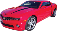 2010-2015 Camaro Hood Spears Stripes : Vinyl Graphics Kit (GRC35)