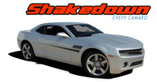 SHAKEDOWN : 2010 2011 2012 2013 2014 2015 Chevy Camaro Side Door Hockey Vinyl Graphics Striping Kit (VGP-1501)