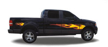 CALIENTE : Automotive Vinyl Graphics - Universal Fit Decal Stripes Kit - Pictured with FORD F-150 SERIES (ILL-V0)
