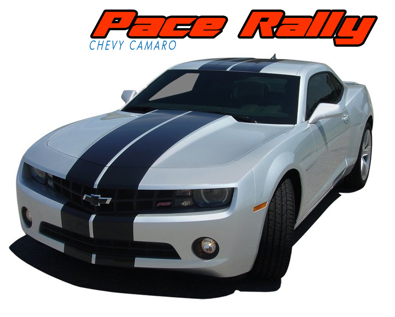 STRIPE FACTORY DODGE CHARGER BUMPER TO BUMPER RALLY KIT WITH OUTLINE 2011//2015