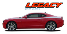 LEGACY : 2010 2011 2012 2013 2014 2015 Chevy Camaro Upper Side Door Accent Vinyl Graphic Stripe Kit (VGP-1693)