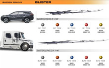 BLISTER Universal Vinyl Graphics Decorative Striping and 3D Decal Kits by Sign Tech Media, Inc. (STM-BLT)
