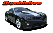 BUMBLEBEE : 2010 2011 2012 2013 Chevy Camaro Racing Stripes Hood Vinyl Graphics SS RS Trunk Spoiler Decals Kit (VGP-1507)