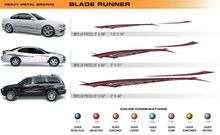 BLADE RUNNER Universal Vinyl Graphics Decorative Striping and 3D Decal Kits by Sign Tech Media, Inc. (STM-BR)