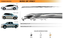 BIRD OF PREY Universal Vinyl Graphics Decorative Striping and 3D Decal Kits by Sign Tech Media, Inc. (STM-BD)