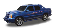 BARRACUDA : Automotive Vinyl Graphics - Universal Fit Decal Stripes Kit - Pictured with CHEVY AVALANCHE (ILL-434-432)