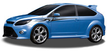 AXIS : Automotive Vinyl Graphics - Universal Fit Decal Stripes Kit - Pictured with FORD FOCUS (ILL-906)