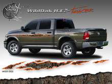 Wild Oak Hunter Edition Wild Wood Camouflage : TRACER Body Side Vinyl Graphic 9 inches x 96 inches (ILL-1400.052)