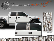 Avalanche Wild Wood Camouflage : Pillar Post Decal Vinyl Graphic 22 inches x 12 inches (ILL-1403.054)