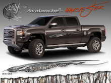 Avalanche Wild Wood Camouflage : HARVESTER Body Side Vinyl Graphic 9 inches x 96 inches (ILL-1401.054)