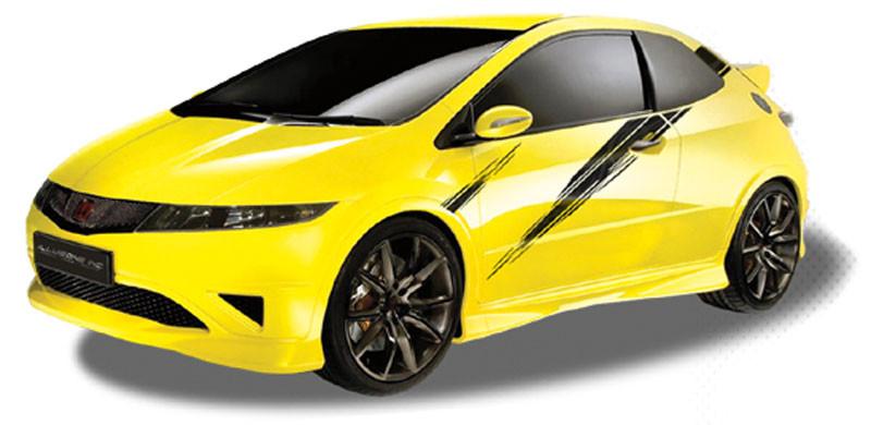 research.unir.net Fits Honda Civic Sports Side Racing Stripes ...