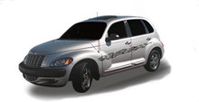 WHIPLASH : Automotive Vinyl Graphics - Universal Fit Decal Stripes Kit - Pictured with PT CRUISER (ILL-845)