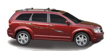 VORTIX : Automotive Vinyl Graphics - Universal Fit Decal Stripes Kit - Pictured with MIDSIZE CROSSOVER (ILL-461)